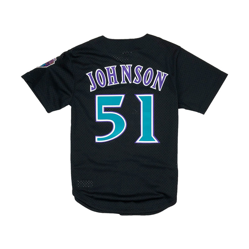 Mitchell & Ness Arizona Diamondbacks Randy Johnson Baseball Jersey Black Back