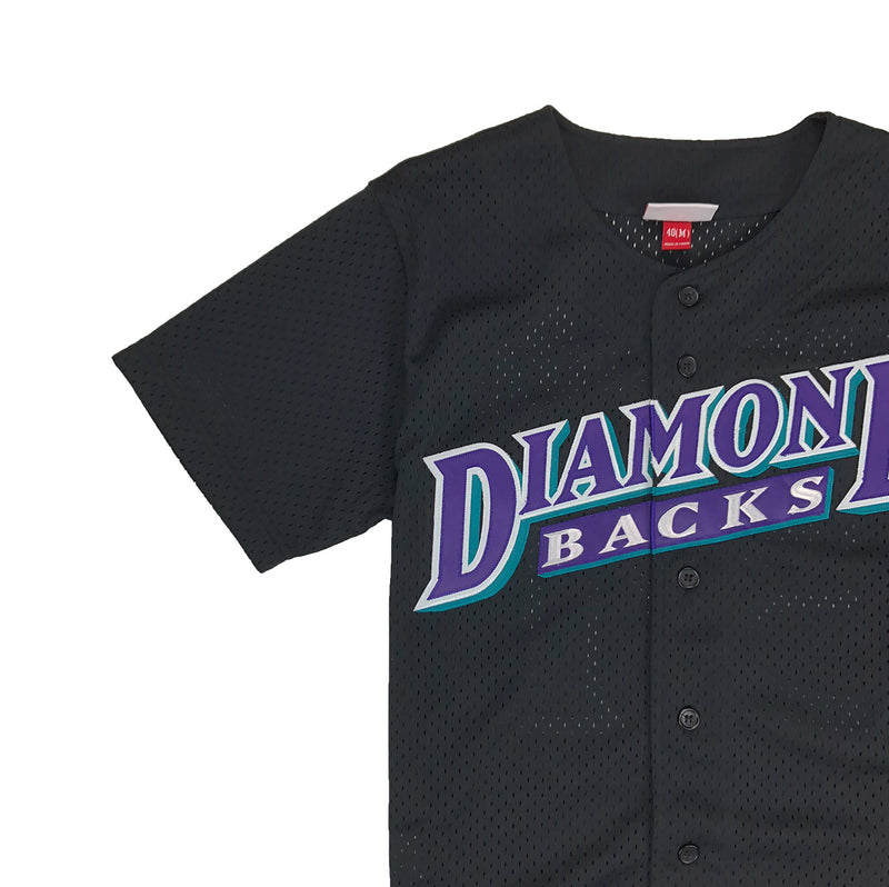 Mitchell & Ness Arizona Diamondbacks Randy Johnson Baseball Jersey Black Neckline