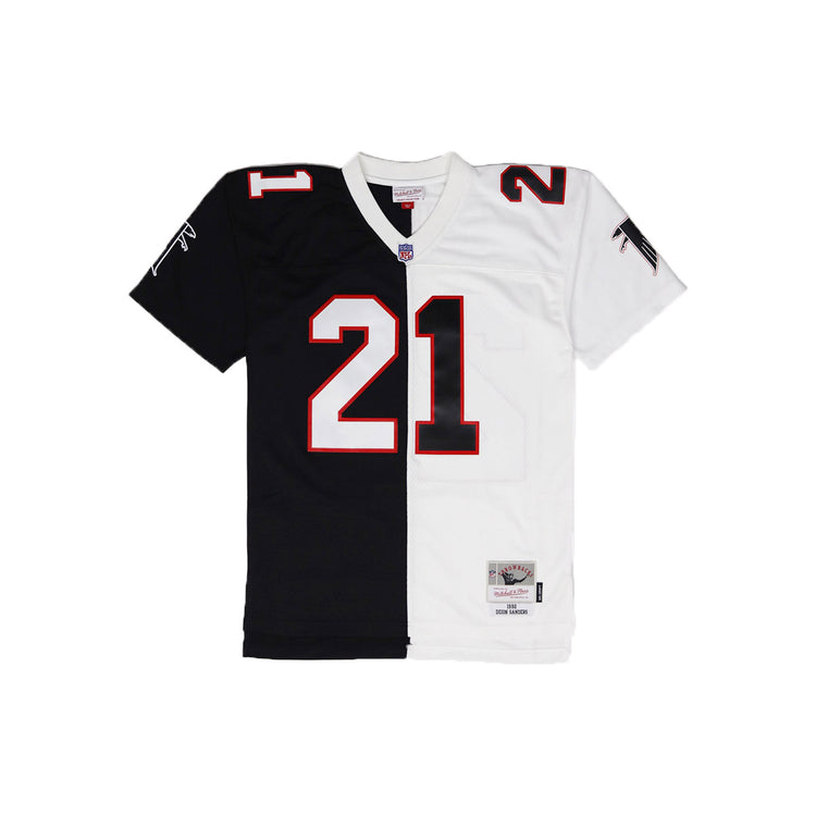 Mitchell & Ness Atlanta Falcons Deion Sanders Throwback Jersey White & Black