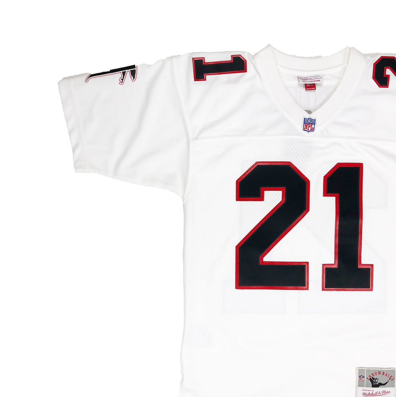Mitchell & Ness Atlanta Hawks Dion Sanders Throwback Jersey White Neckline