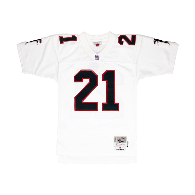 Mitchell & Ness Atlanta Hawks Dion Sanders Throwback Jersey White
