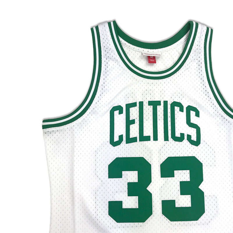 free shipping 1d2d3 7c7cb Mitchell & Ness Boston Celtics Larry Bird Swingman Jersey