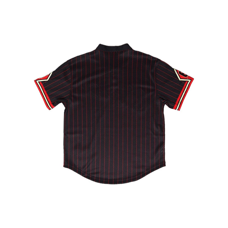 Mitchell & Ness Chicago Bulls 6 Rings Baseball Jersey