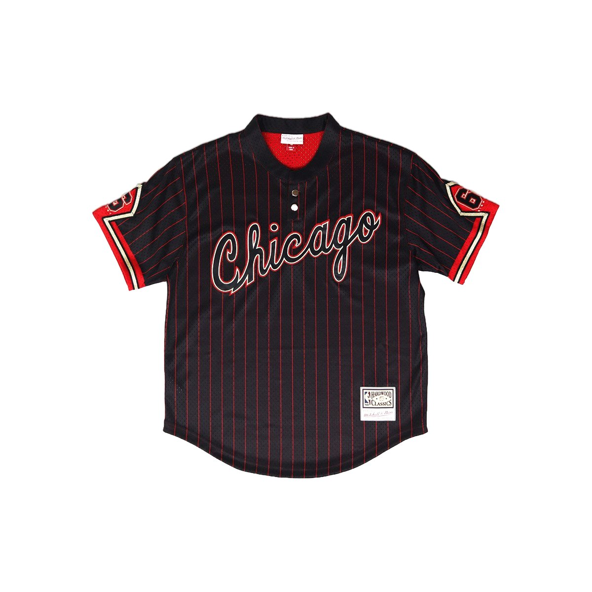 e9457320d ... closeout mitchell ness chicago bulls 6 rings baseball jersey e03db fe6ab