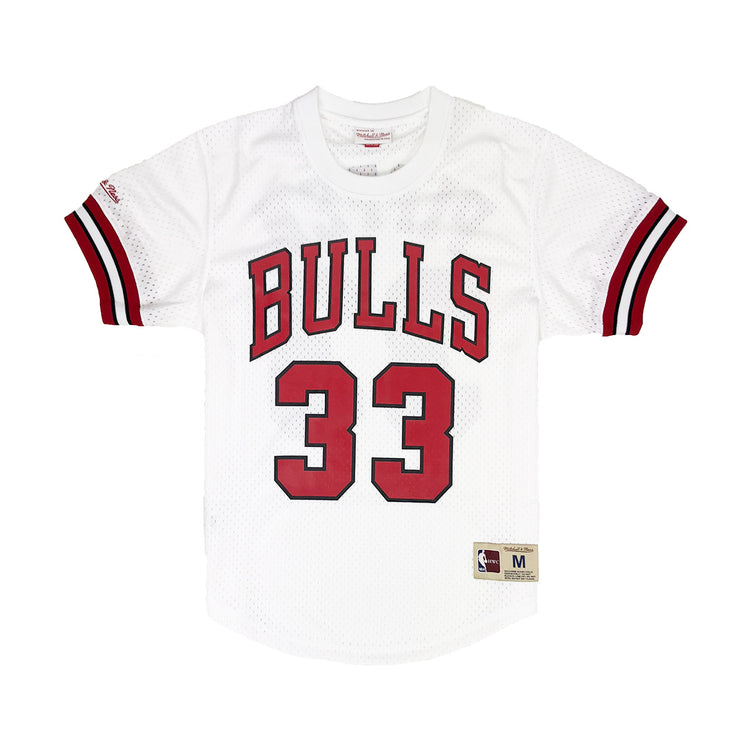 Mitchell & Ness Chicago Bulls Scottie Pippen Mesh Jersey White