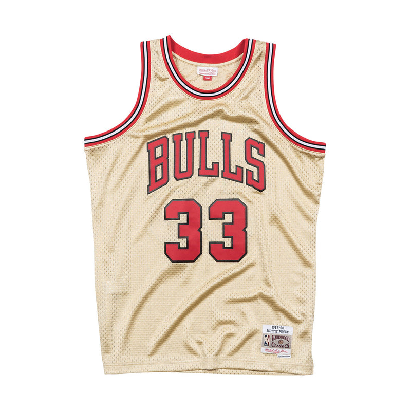 Mitchell & Ness Chicago Bulls Scottie Pippen Swingman Jersey Front