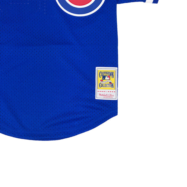 Mitchell & Ness Chicago Cubs Ryne Sandberg BP Jersey Royal Blue Tag