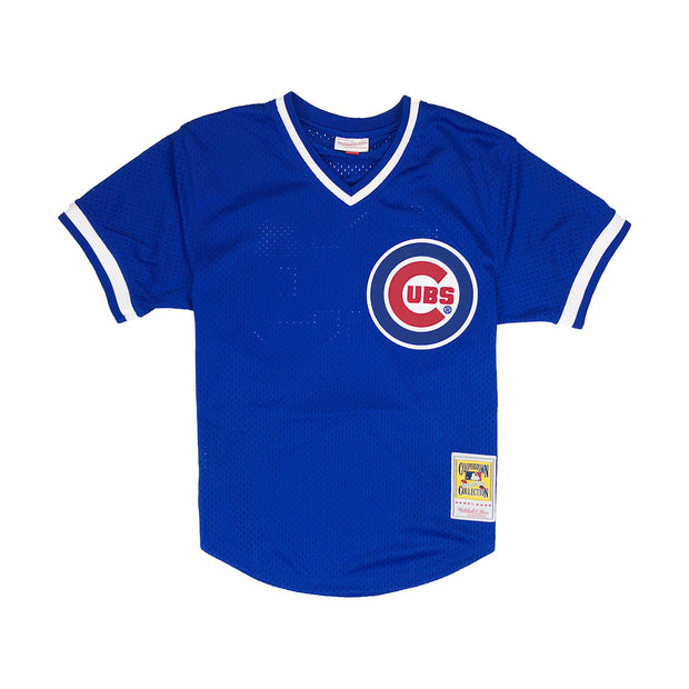 Mitchell & Ness Chicago Cubs Ryne Sandberg BP Jersey Royal Blue