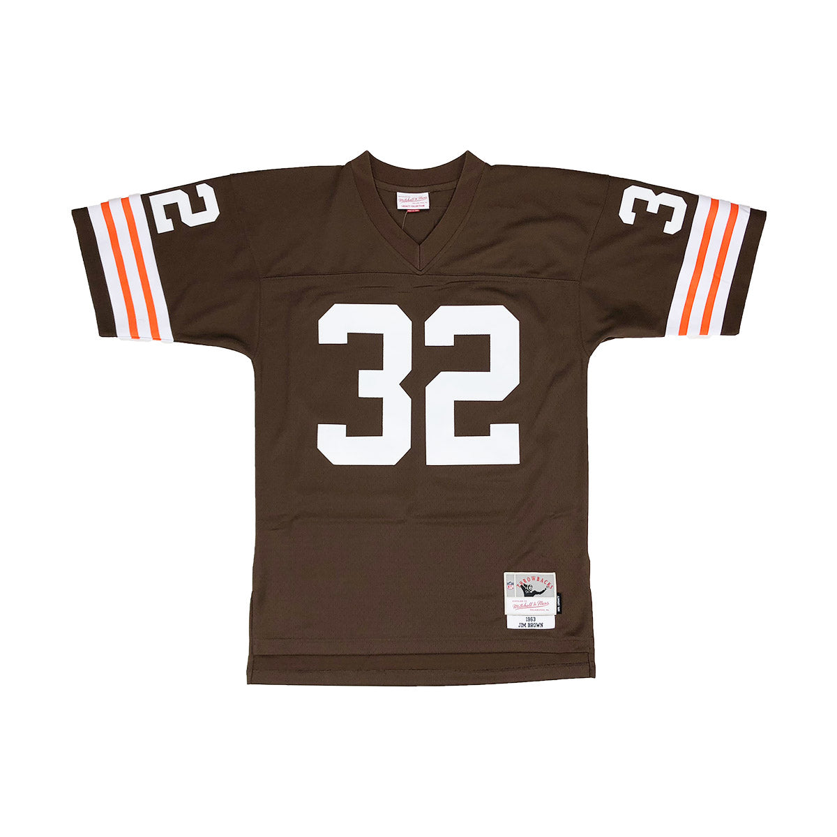 Mitchell & Ness Cleveland Browns Jim Brown Throwback Jersey