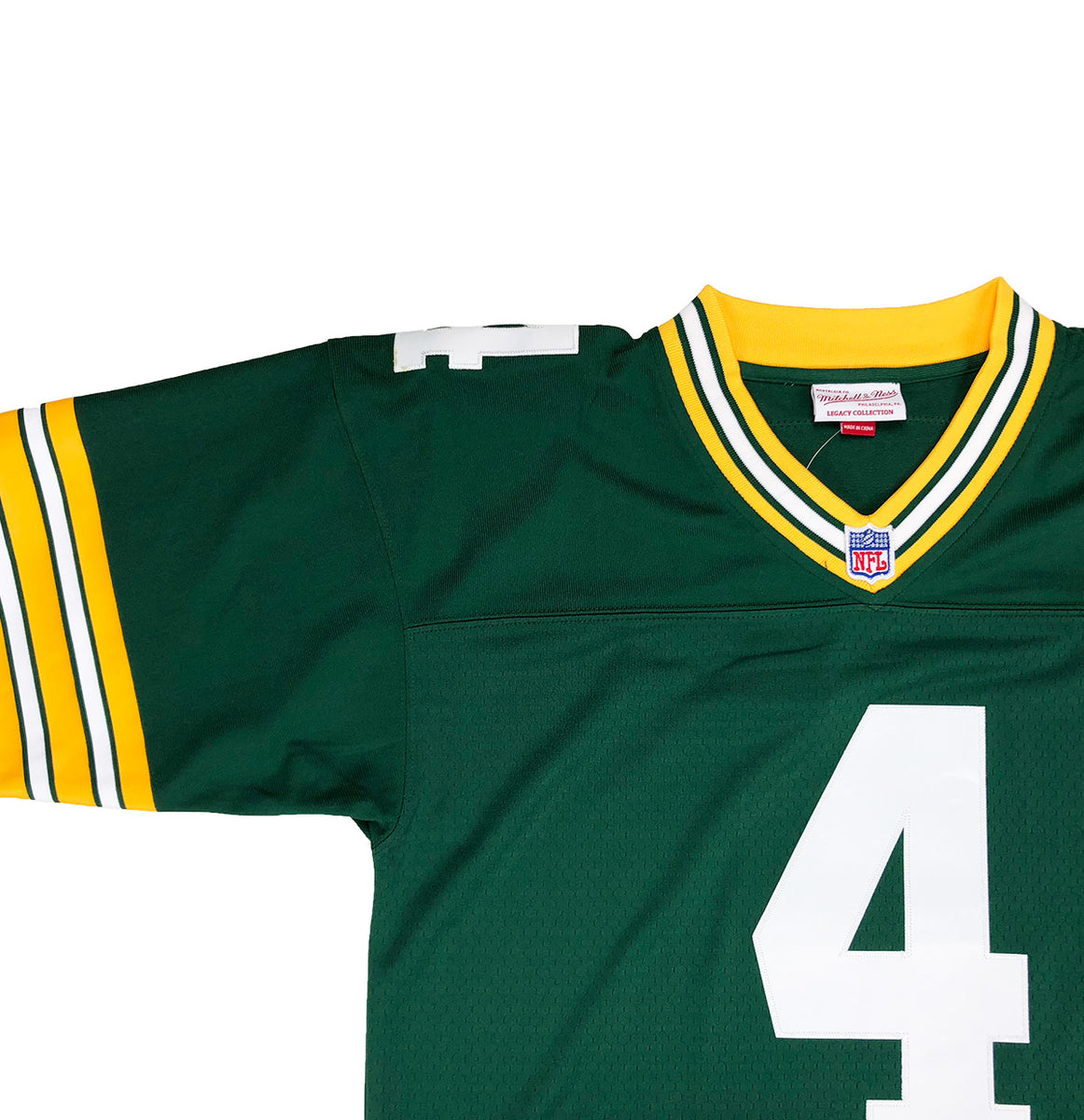 the latest 3f69a c30f5 Mitchell & Ness Green Bay Packers Brett Favre Throwback Jersey