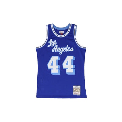 Mitchell & Ness Los Angeles Lakers Jerry West Basketball Jersey Blue