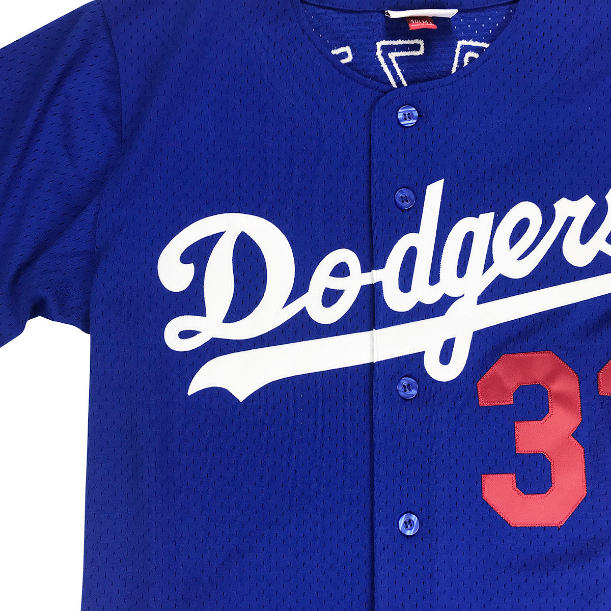 cheap for discount 2af13 16860 Mitchell & Ness Mike Piazza Los Angeles Dodgers BP BF Jersey