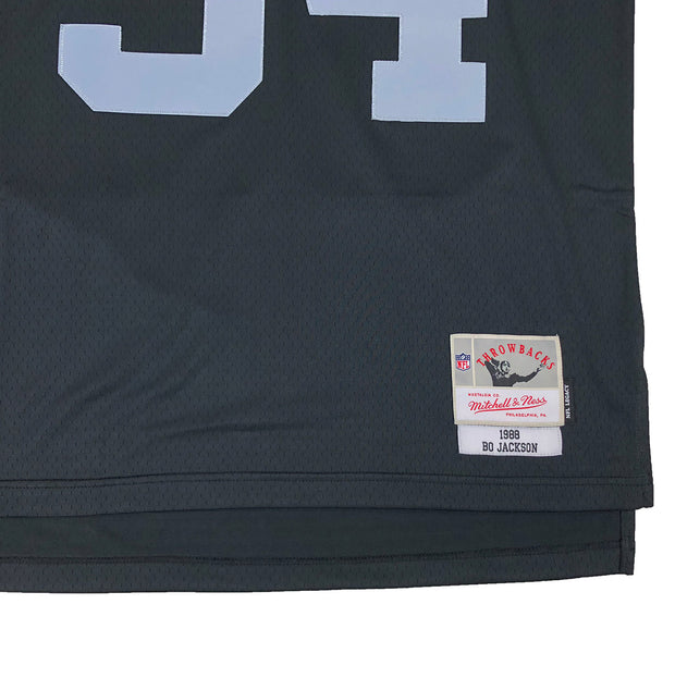 Mitchell & Ness Oakland Raiders Bo Jackson Throwback Jersey Black Tag