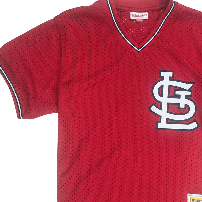 finest selection fbca6 fa949 Mitchell & Ness Ozzie Smith St. Louis Cardinals BP Jersey
