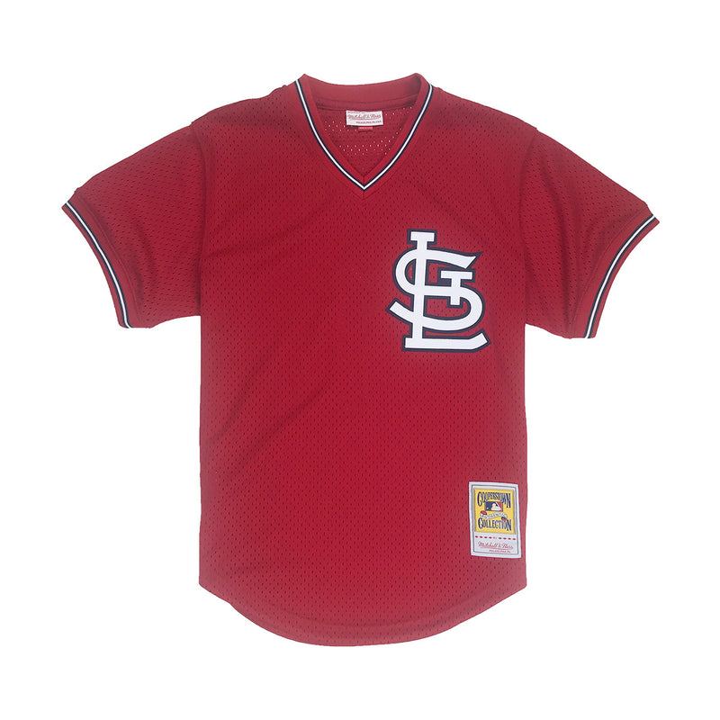 finest selection d90b2 170b3 Mitchell & Ness Ozzie Smith St. Louis Cardinals BP Jersey