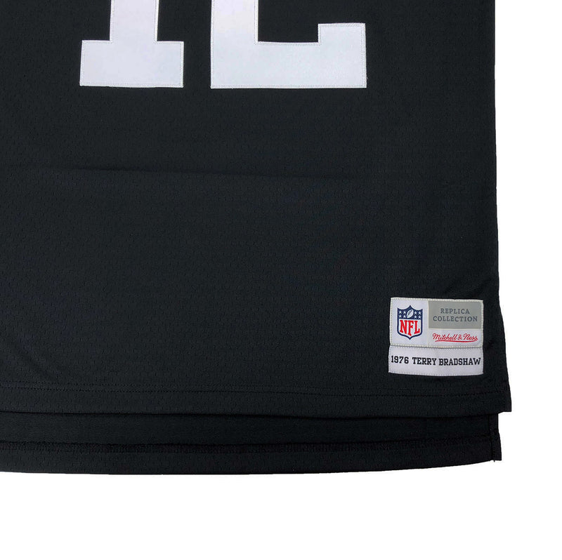 e1eb62ee1 Mitchell & Ness Pittsburgh Steelers Terry Bradshaw Throwback Jersey Black  Tag