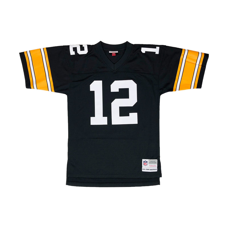 Mitchell & Ness Pittsburgh Steelers Terry Bradshaw Throwback Jersey Black