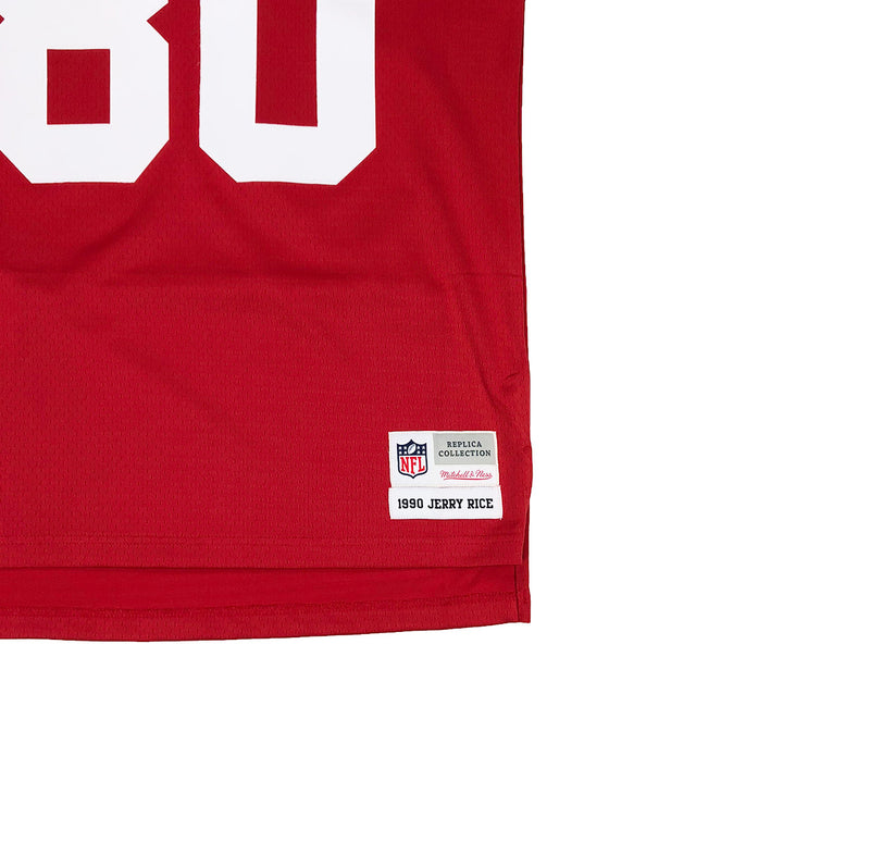 Mitchell & Ness San Francisco 49ers Jerry Rice Throwback Jersey Red Tag