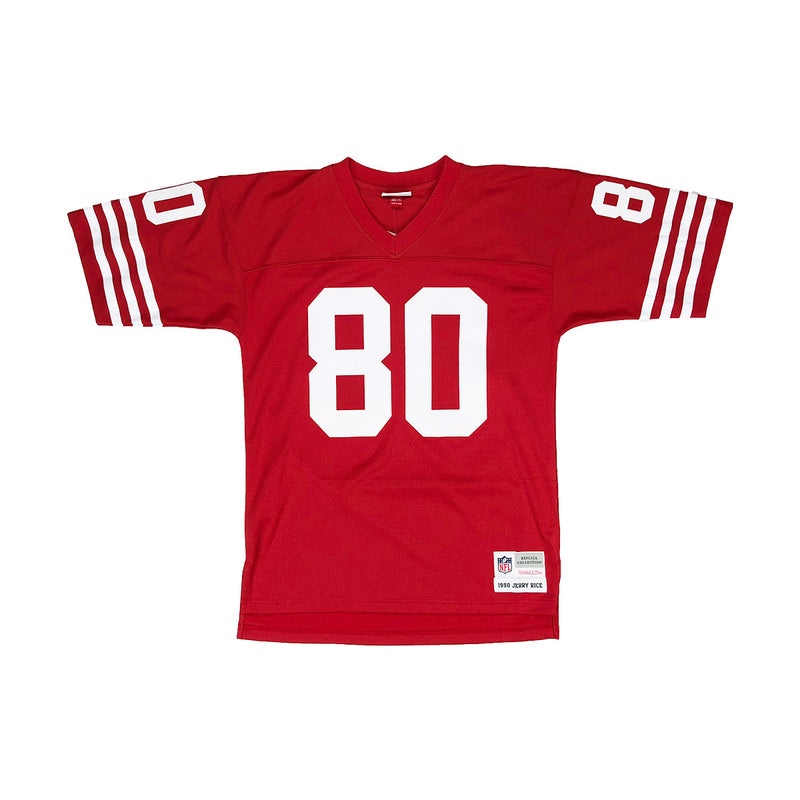 Mitchell & Ness San Francisco 49ers Jerry Rice Throwback Jersey Red