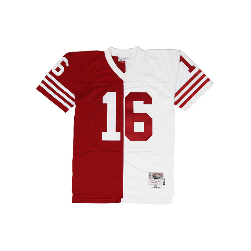Mitchell & Ness San Francisco 49ers Joe Montana Throwback Jersey Red & White