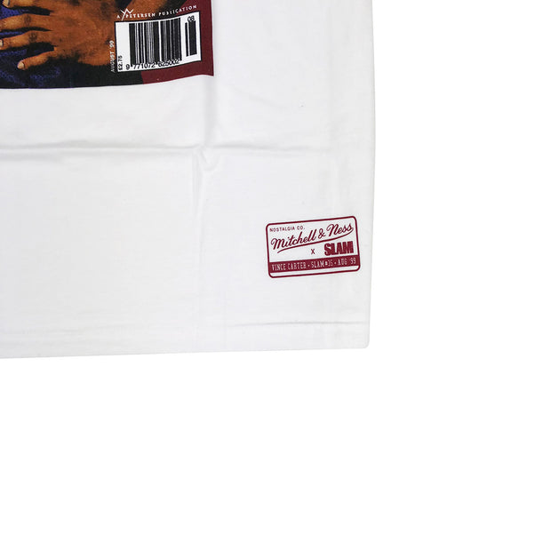 Mitchell & Ness Vince Carter Slam Magazine T-Shirt White Tag