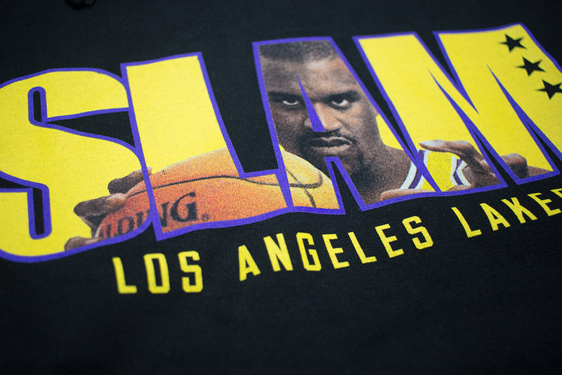 Mitchell & Ness SLAM Hoodie Shaquille O'Neal Black Slam Cover