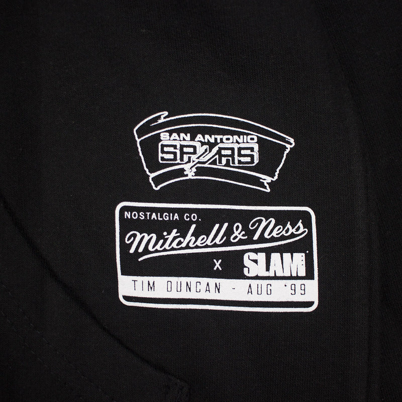 Mitchell & Ness SLAM Hoodie Tim Duncan Tag