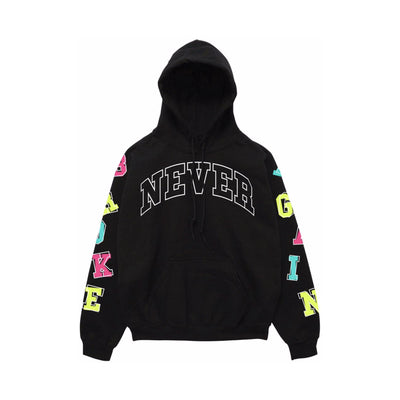 NBA Youngboy Letters Hoody Black