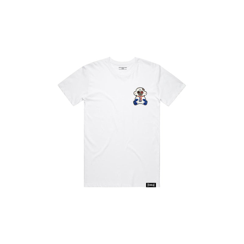 NBA Youngboy 38 Baby 4KT Patch T-Shirt White
