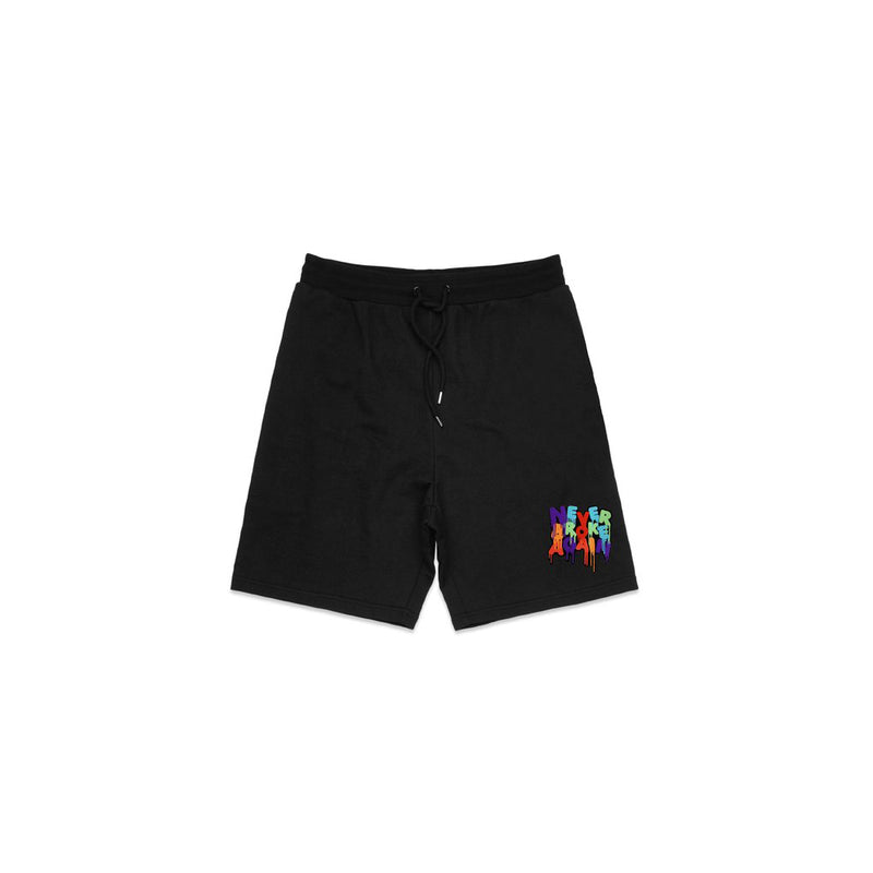 NBA Youngboy Drip Patch Shorts Black