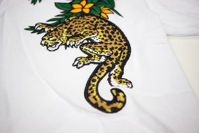 Reason Borneo Polo White Tiger Patch