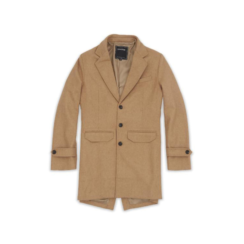 Reason Camel Overcoat Khaki