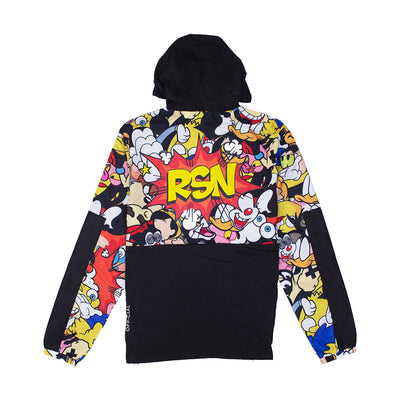 Reason Cartoon Remix Anorak Black Back