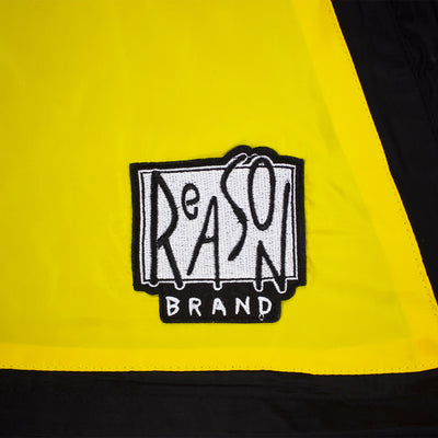 Reason Cartoon Remix Anorak Black Reason Patch