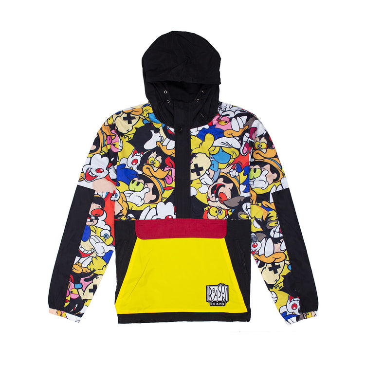Reason Cartoon Remix Anorak Black