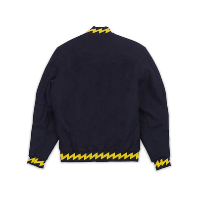 Reason Disruption Bomber Navy & Yellow Back