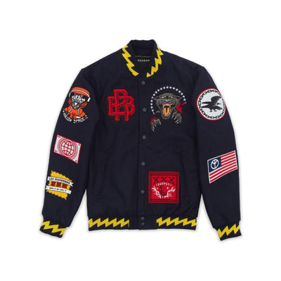 Reason Disruption Bomber Navy & Yellow