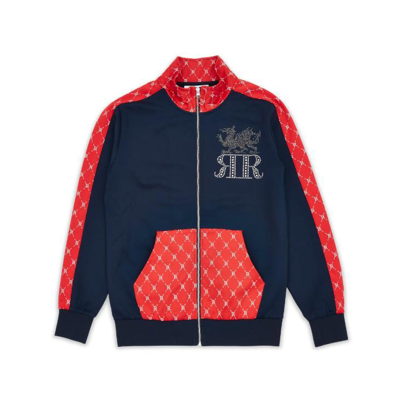 Reason Dragons Monogram Track Jackets Navy
