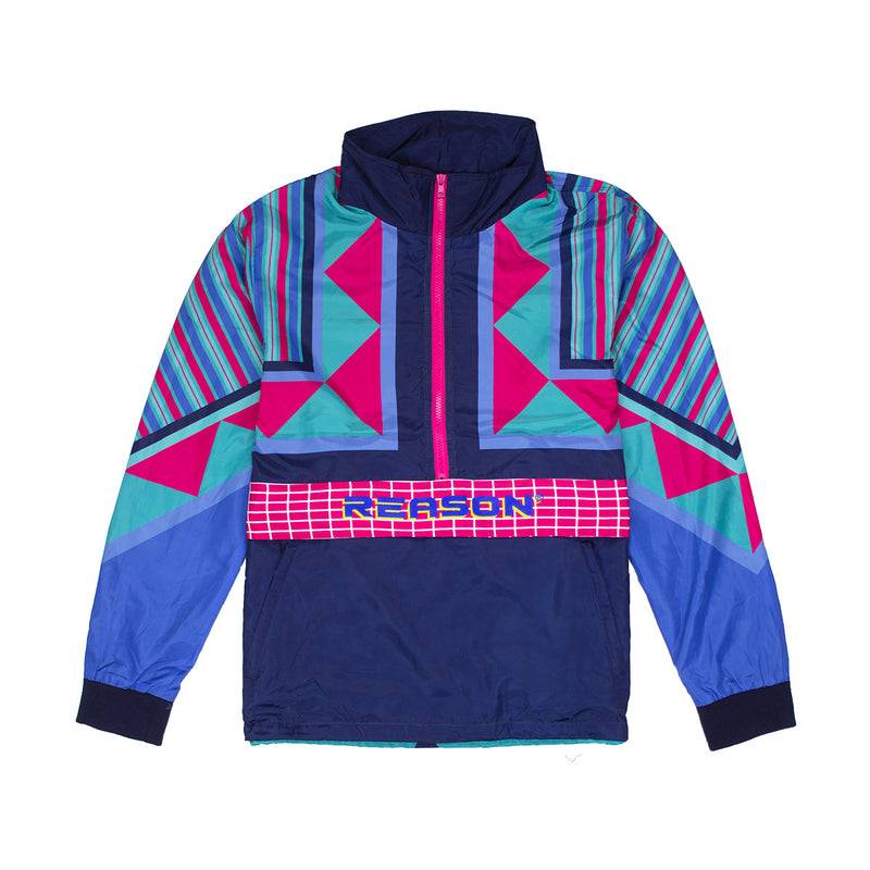 Reason Neo Abstract Track Jacket Multi