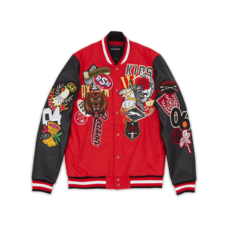 Reason Regionals Varsity Jacket Red
