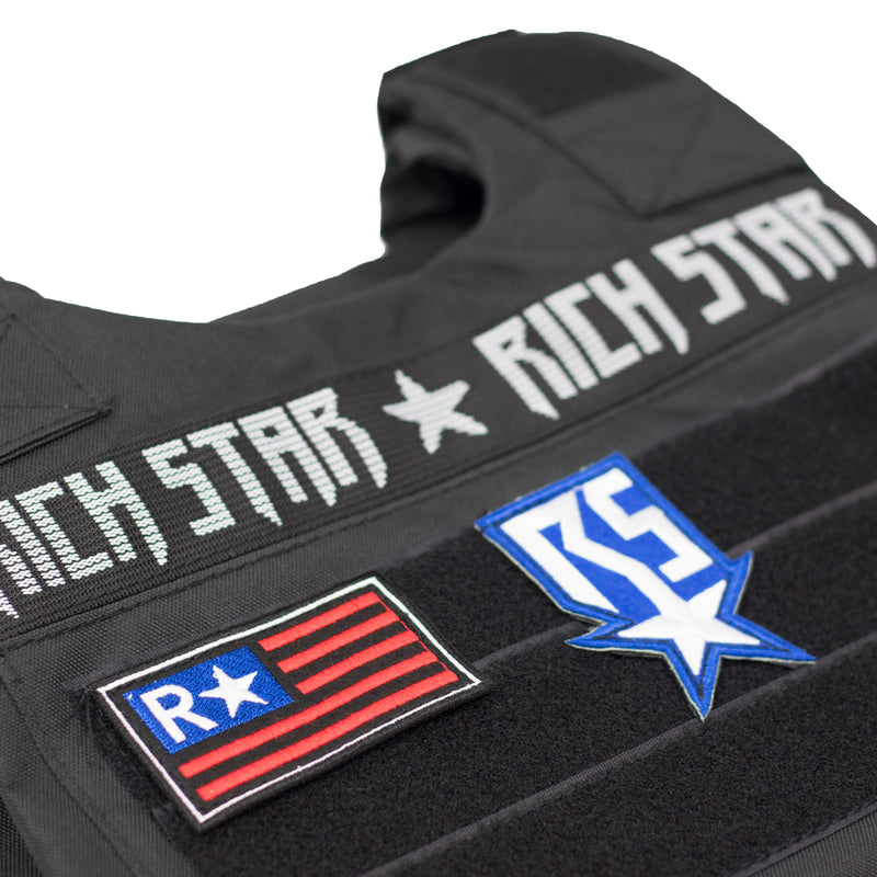 Rich Star Vest 2.0 Black Patches