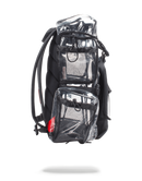 Sprayground 20/20 Vision Top Gear Backpack Black Side