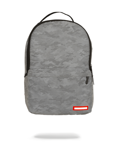 Sprayground 3M Transporter Backpack Grey Camo Front