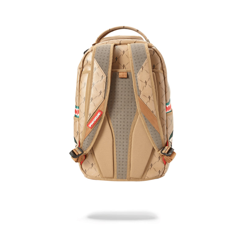 Sprayground Air Italia Backpack Tan Back
