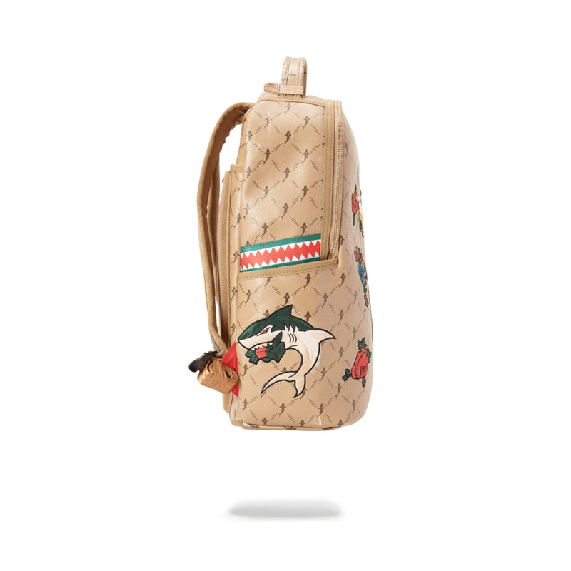 Sprayground Air Italia Backpack Tan Side