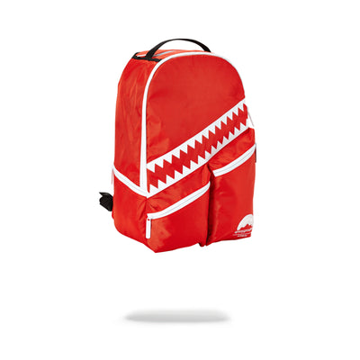 Sprayground All Day I Dream About Sprayground Backpack Red Angled