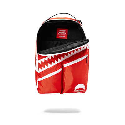 Sprayground All Day I Dream About Sprayground Backpack Red Opened