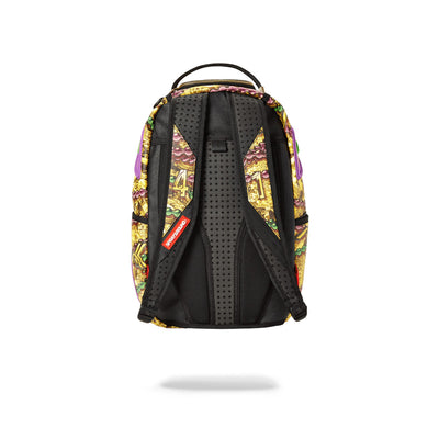 Sprayground Alvin Kamara Backpack Back