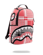 Sprayground Arabia Knit Shark Backpack Red