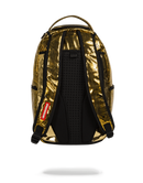 Sprayground Bitcoin Bag Gold Back